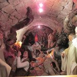 Wax figures depicting Hungarian saint's journey to hell
