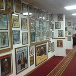 one of the hallways filled with the collection