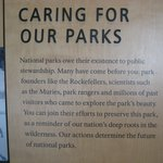 Information on Caring for the Parks