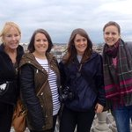 Us girls on top of the City!