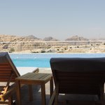 View from pool - overlooking Petra