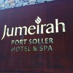 The welcome at Jumeirah Port Soller