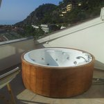 our private hot tub with a view ;)
