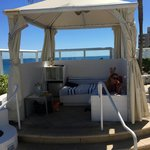 our cabana for the wknd