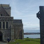 St. Columba shirne at the Abbey on Iona