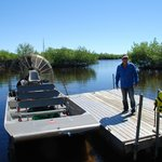 Captain Johnny & His Airboat Oct 2014