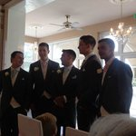 Groom, best men and ushers