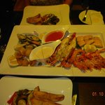 The Akamas Fish Platter for two