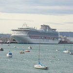 Cruise ships in Harbour