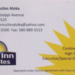 Days Inn And Suites Atoka resmi