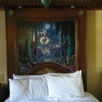 The Royal Guest Room light-up headboard