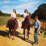 Riding horses at Shelby farms!