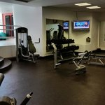 Weight area of the exercise room
