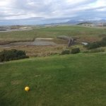 5th hole, traigh. skye in distance.
