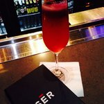 "Blackberry ""Le Fizz"" is delicious at Sēr"