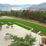 Manicured lawns and beautiful scenery