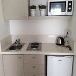 Kitchenette (room 221 in Aegean Village)