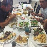 A Greek feast! Amazing!!!