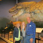 Enjoying the Creation Museum with our 13 year old grand daughter