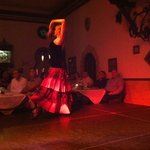 One of the Flamenco Dancers at Columbia Restaurant