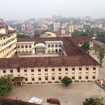 View of Canara College from 8th floor room