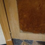 door with veneer fading