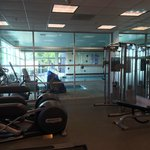 Fitness room--no weights