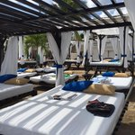 cabanas at VIP beach