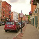 Main Street in Galena, IL, from the DeSoto Hotel