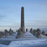 December afternoon at Vigeland Park