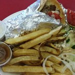 Gyro Platter for two!