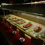 At the grill oriented restaurant a visual feast