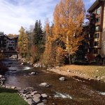 Beautiful fall colors and running rivers near Vail