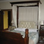 Our bedroom: what a great night's sleep
