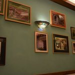 Nicely done wall with rustic pictures of Goa