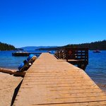 Boat dock at the beach