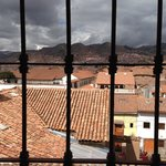 View from the room overlooking Cusco