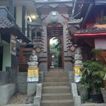 Front of the home stay