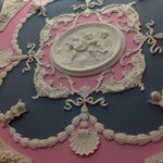 Cameo cherubs covered our walls