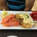 Salmon Breakfast yumm