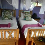 the twin bedroom we stayed