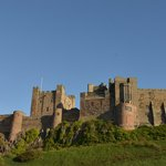 Bamburgh Castle from South