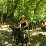 Mule Ride after Zip line to end the day
