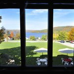 Beautiful view of Keuka Lake.