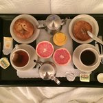 Breakfast in Bed (complimentary)