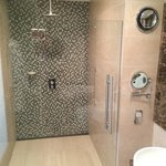 Large walk in shower - executive room