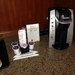 Keurig coffee Maker! A nice extra