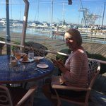 Scott's patio dining, Jack London Square