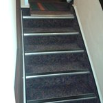 Steps from room