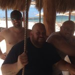 Best beach bar ever. Russel and Angel were awesome bartenders
